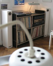Vinylregal Heeger