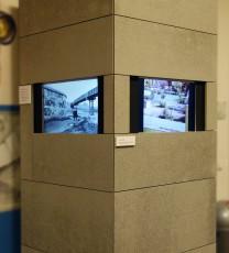 Medienstation für 3 Monitore